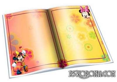 Frames for Photo - Open Book - Disney