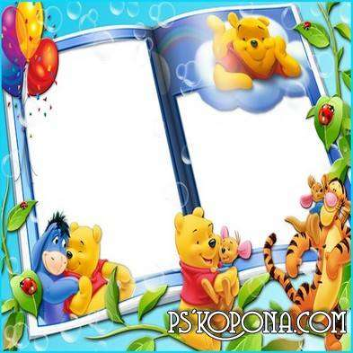 Children Frames for Photos - Winnie the Pooh and Friends