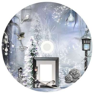 Free Cover for DVD - Winter evening