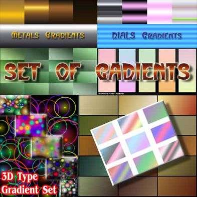Gradient Set of 200 GRD Files
