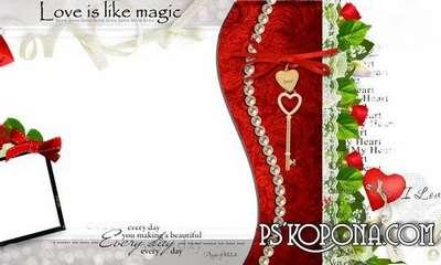 Luxury Wedding-romantic photobook-Love is like magic