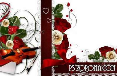 Romantic-wedding Photobook template-When love comes