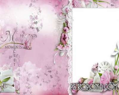 wedding album template psd for photo - Magic tenderness