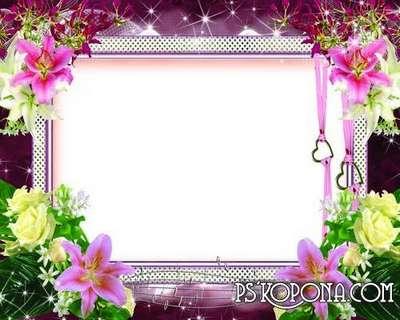 Frames for photoshop - Romantic