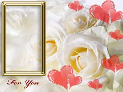 Frame for Photoshop - With Love