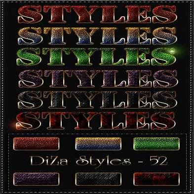 Free glitter photoshop Styles - 52