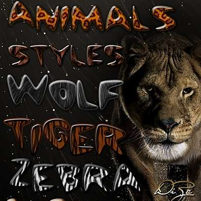 Animals Styles for Photoshop