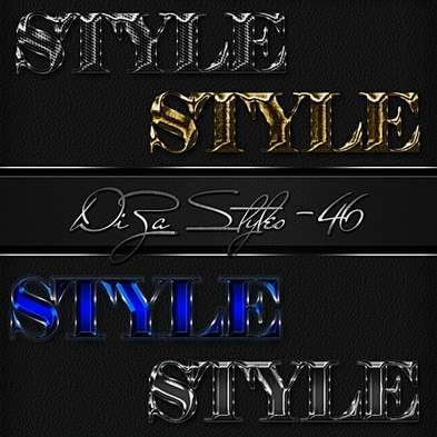 Text color Photoshop Styles by DiZa - 46