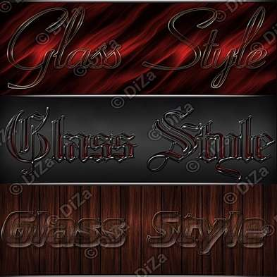 Glass Styles for Photoshop - 5