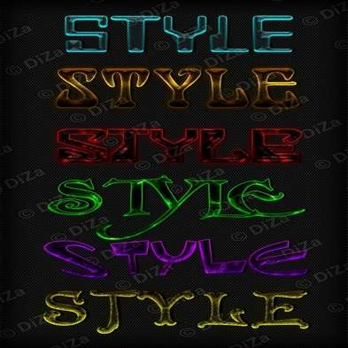 Text photoshop styles by DiZa - 43