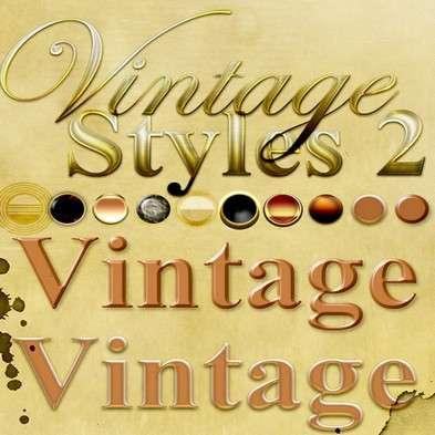 Styles Photoshop - Vintage