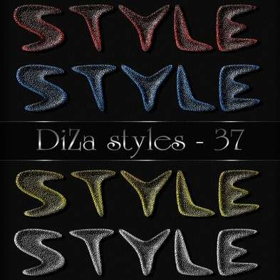 Text photoshop styles by DiZa - 37