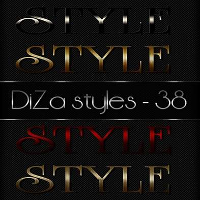 Text photoshop styles by DiZa - 38
