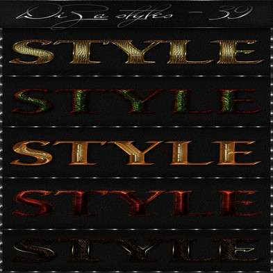 Text photoshop styles by DiZa - 39