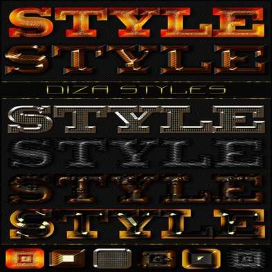 Text photoshop styles by DiZa - 31