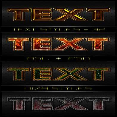 Text photoshop styles by DiZa - 32