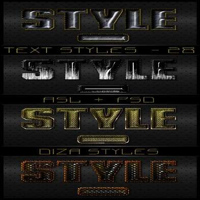 Text photoshop styles by DiZa - 29