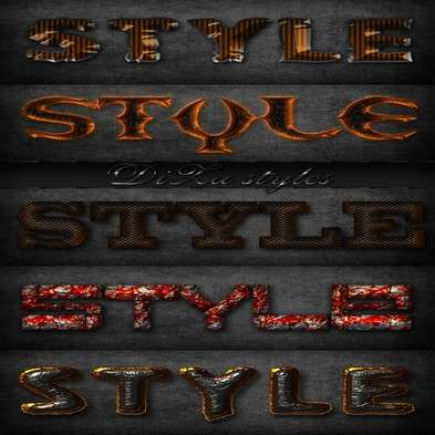 Text photoshop styles by DiZa - 30