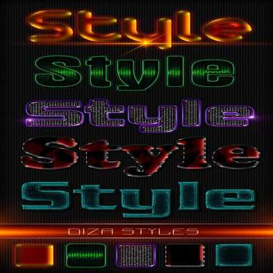 Text photoshop styles by DiZa - 24