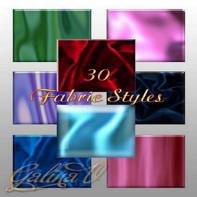 Fabric Photoshop Styles