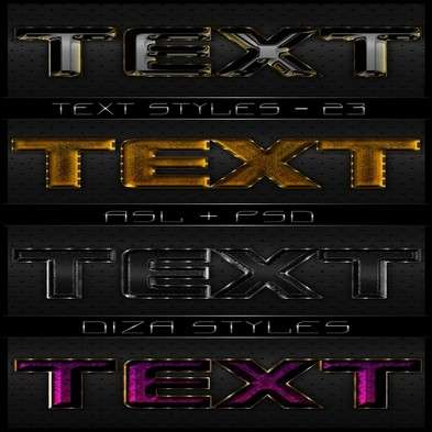 Text photoshop styles by DiZa - 23