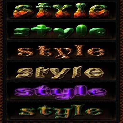 Sonarpos photoshop styles 24