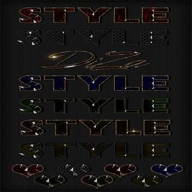 Text photoshop jewel styles by DiZa-14