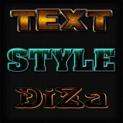 Text photoshop styles by DiZa - 15