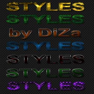 Variety Text styles Photoshop - 15
