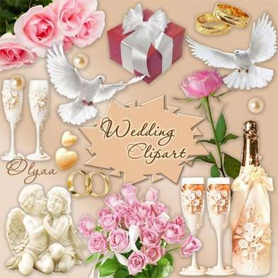 Wedding Clipart PNG