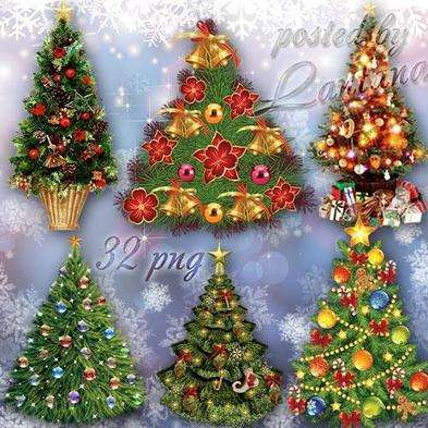 Free Graphics png christmas trees 32 png images free download