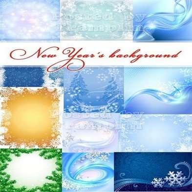 Christmas background Jpg – Snowflakes as twinkles
