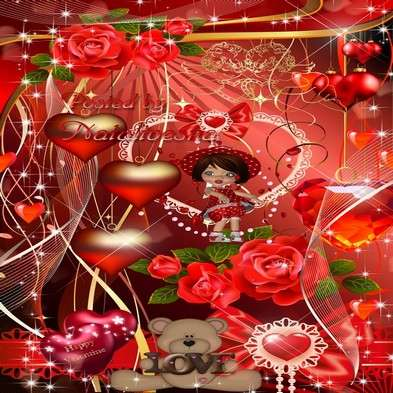 Clipart png by day of St. Valentine – Romantic Valentine png