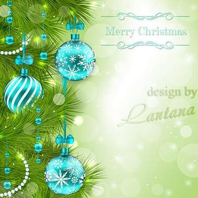 Free Multi-layer psd template - Magical Christmas holiday 25 Free download