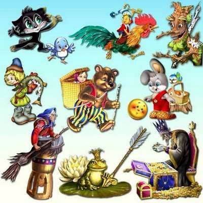 Clipart transparent background - Heroes of fairy tales