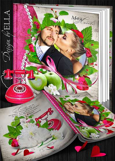 Romantic photo book for all lovers-My love