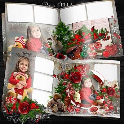 New Year's photobook-Merry Christmas Holiday