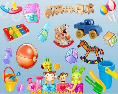 Scrap kit toys png + psd free download