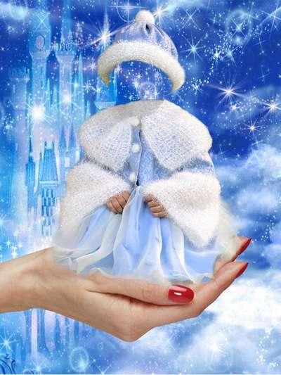 2 children PSD templates for girls - costume psd little Princess