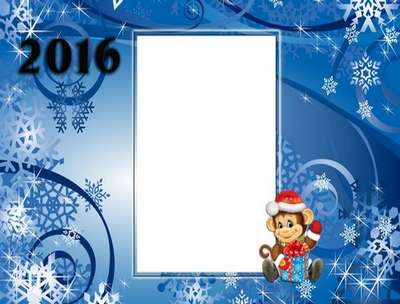 Winer PSD Frame for Photoshop - Aura New Year