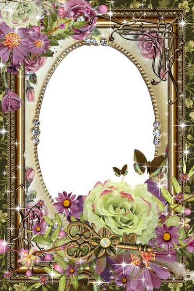 PSD Photo Frame vintage style