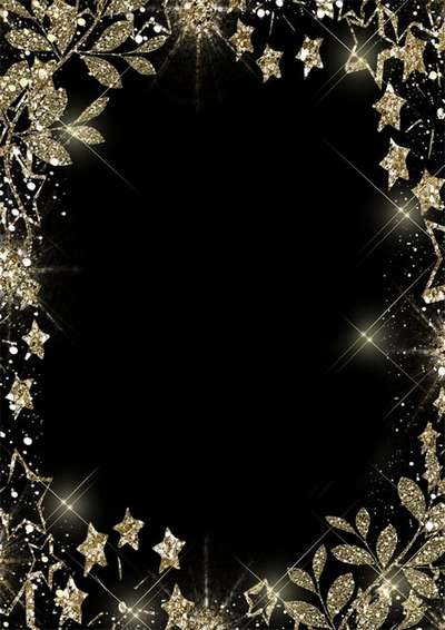 Free PSD frame for Photoshop super gold frame psd