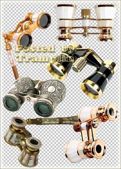 Clipart - Theatre Binoculars