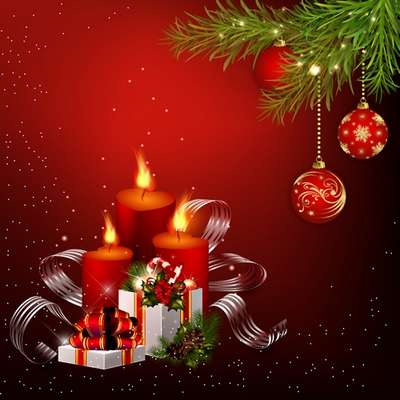 Free Layered PSD source (psd background) for Photoshop - Magical Christmas holiday 38