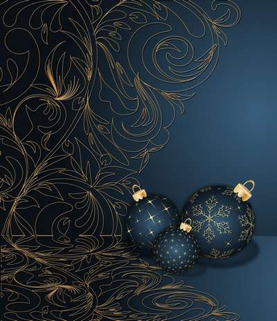 Free Layered PSD source (background psd) for Photoshop - Magical Christmas holiday 39