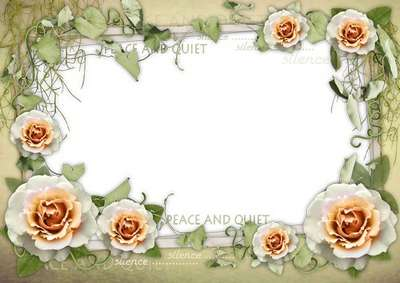 Romantic photo frame - Get away from the bustle