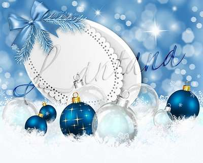 Free layer PSD source with new year balls - Magical Christmas holiday 40