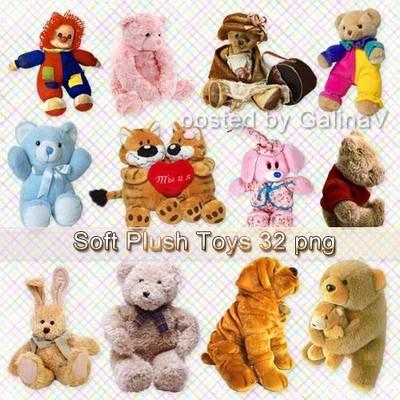 Soft Plush Toys PNG