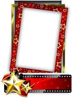 Stylish frame cutouts - Starring