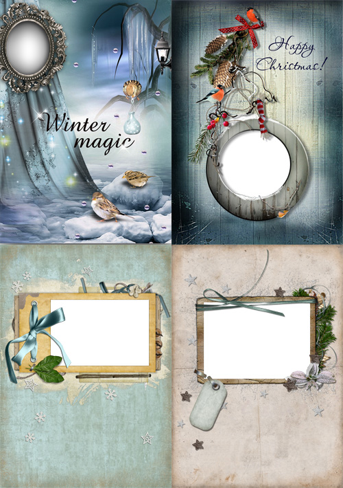 Scrap Frame - Winter Magic